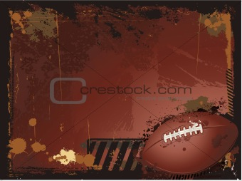 American football sport design