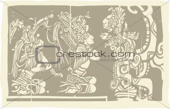 Mayan Priests Vision A