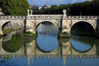 Bridge in Rome