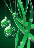 Christmas green template