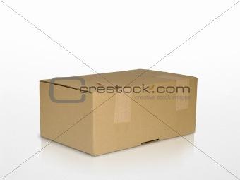 old carton box