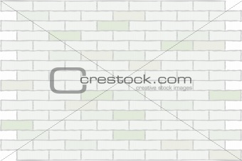 Wall from a white brick. A background.
