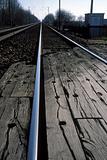 Vanishing railway lines