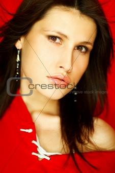 Sexy Brunette Portrait