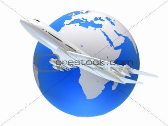 global plane