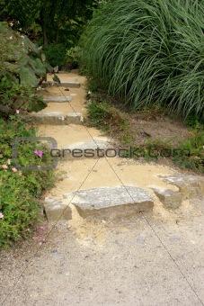 Old Stone Garden Path