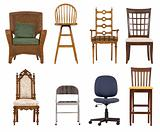 Assortment of chairs