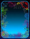 Fireworks border