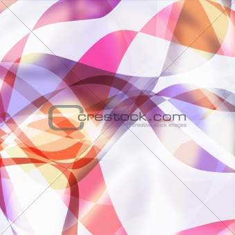 Abstract wave lines