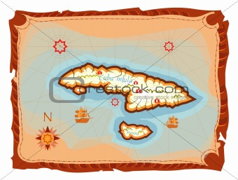 image of ancient cuba map from crestock stock photos