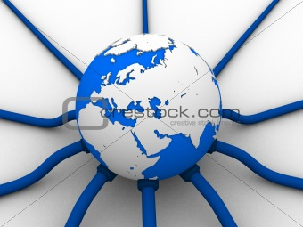 Image 475687: global network from Crestock Stock Photos