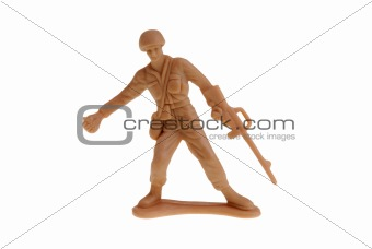 Army soldier toy