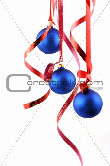 Blue balls - Christmas decoration