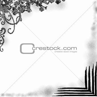 BLACK DESIGN FRAME