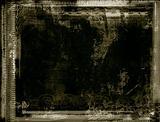 Grunge border and background