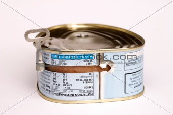 Canned pork