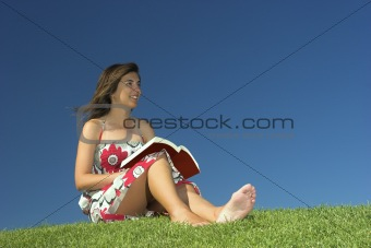 Woman reading