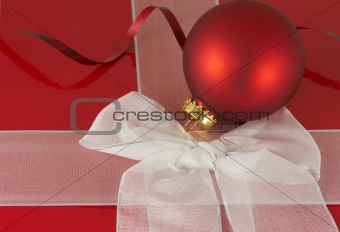 the red box and bulb