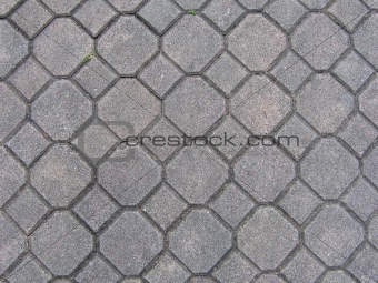 Brick ground texture