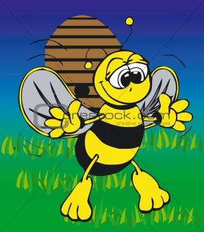 Toonimal Bee-Vector