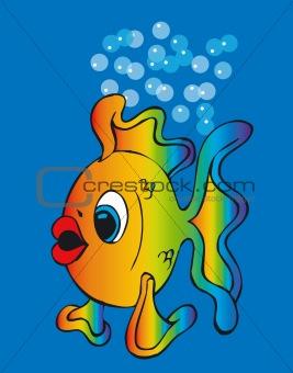 Toonimal Fish-Vector