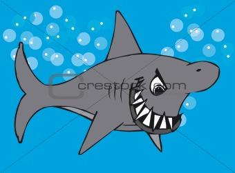 Toonimal Shark-Vector