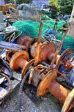 Colorful fishing gear