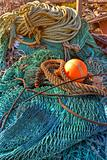Colorful fishing gear
