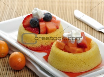 Fruit Tart Cakes