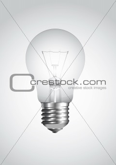 Vector lightbulb
