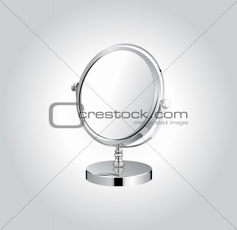 Vector make-up mirror