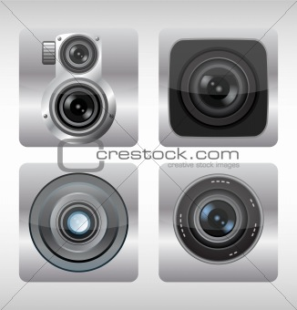 Vector illustration of apps icon. Digital icons