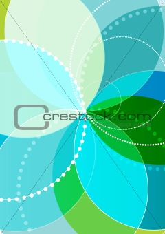 Vector spirograph illustration
