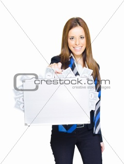Business Finance Woman