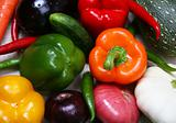 Colorful fresh vegetable