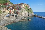 Italy. Cinque Terre. Manarola village 