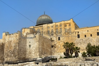 ancient walls of Jerusalem