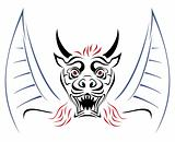 Devil on sketch