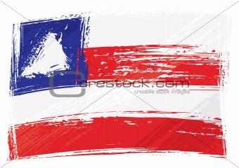 Grunge Bahia flag