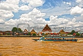 Chao Praya River Bangkok HDR