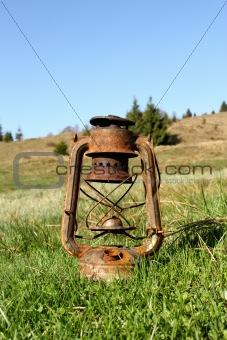 old handlamp
