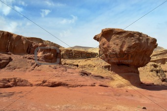 Timna Park ,mountainous desert
