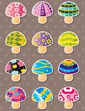 mushroom stickers