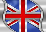 UK Metal Flag