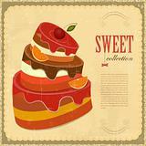 Vintage pastry Menu