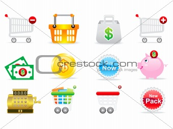 abstract sale icon