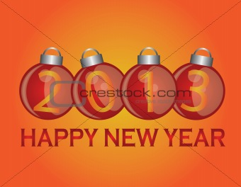 2013 New Year Ornaments