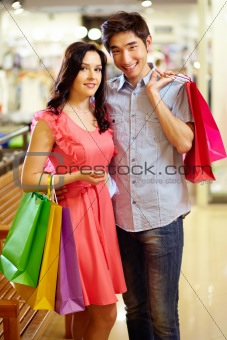 Romantic shopping
