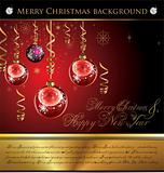 Merry Christmas Elegant Background