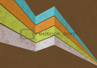 Vector retro background 